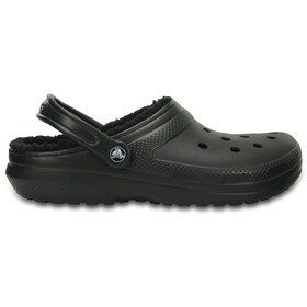 Crocs Classic Lined Clogs Unisex Black/Black